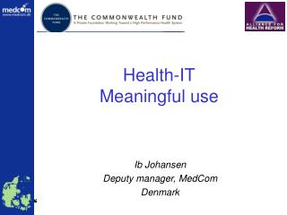 Health-IT Meaningful use