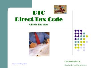 DTC  Direct Tax Code