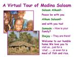 A Virtual Tour of Madina Salaam