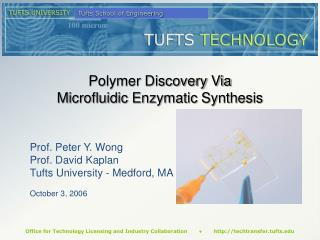 Polymer Discovery Via  Microfluidic Enzymatic Synthesis