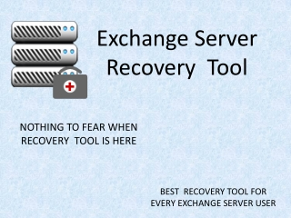 EDB File Recovery Tool