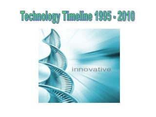 Technology Timeline 1995 - 2010