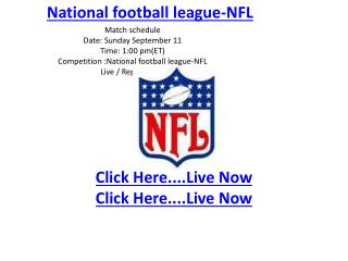 baltimore vs pittsburgh live online nfl stream hd video here