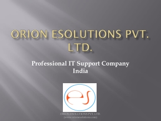 IT Support company India
