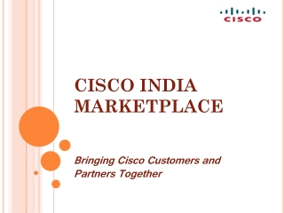 Cisco SMB Marketplace