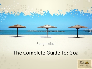Sanghmitra-The Complete Guide To Goa