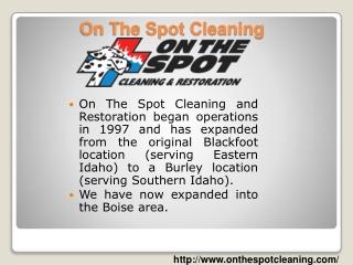 Carpet Cleaning Idaho Falls