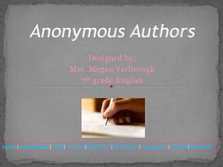 Anonymous Authors