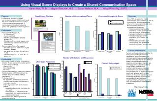 Using Visual Scene Displays to Create a Shared Communication Space
