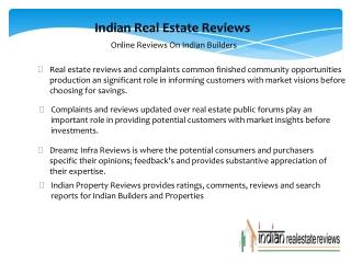 Builders Reviews, Complaints