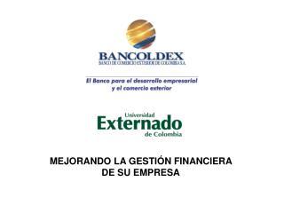 MEJORANDO LA GESTI N FINANCIERA  DE SU EMPRESA