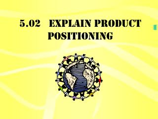 5.02   Explain product positioning