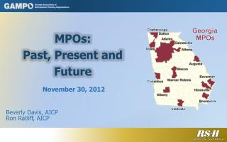 MPOs: Past, Present and Future