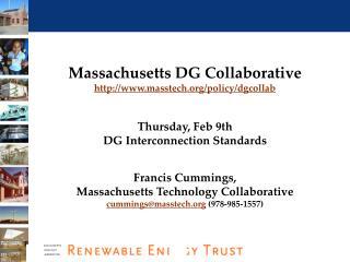 Massachusetts DG Collaborative masstech