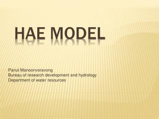 HAE Model