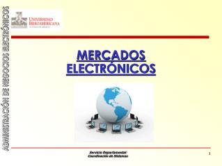 MERCADOS ELECTR NICOS