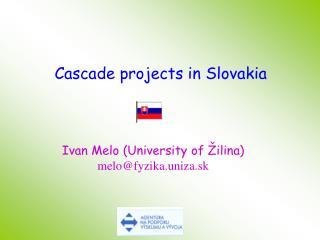 Ivan Melo University of  ilina melofyzika.uniza.sk