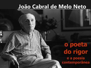 Jo o Cabral de Melo Neto