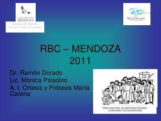 RBC   MENDOZA 2011