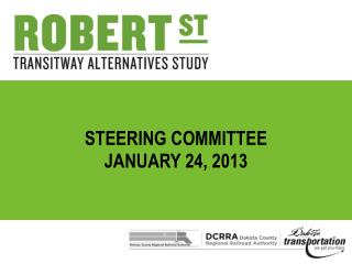Steering Committee January 24, 2013