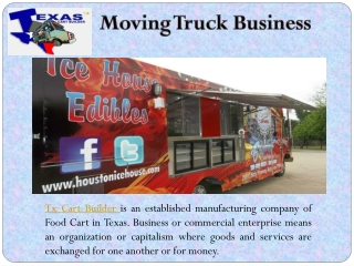 Moving Truck Business