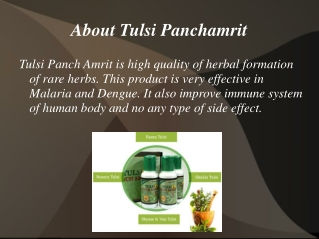 Ultimate Tulsi Panch Amrit