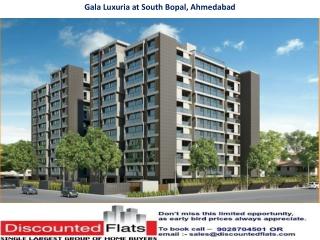 Gala Luxuria South Bopal Ahmedabad by Gala Infra