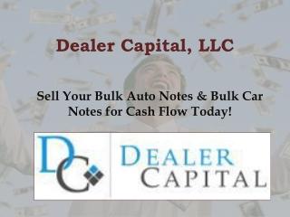 Sell Bulk Auto Notes