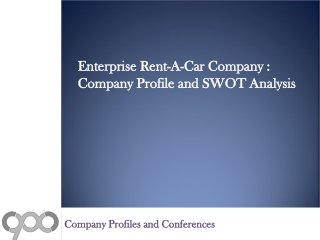 Enterprise Rent-A-Car Company : Company Profile and  Company