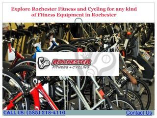Buy Fitness Equipment in Rochester