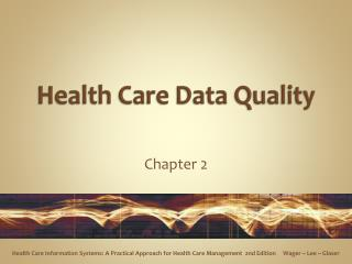 health care data quality