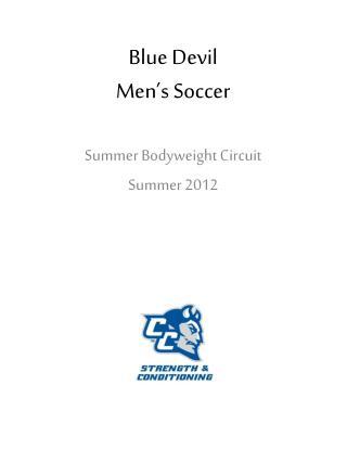 Blue Devil  Men s Soccer