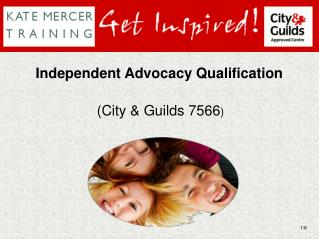 Independent Advocacy Qualification