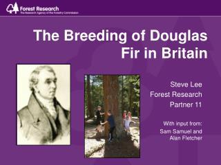 The Breeding of Douglas Fir in Britain