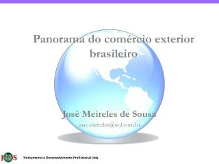 Panorama do com rcio exterior brasileiro
