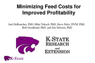 minimizing feed costs for improved profitability