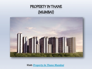 Bench-Mark Set For Property in Thane