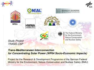 Study Project  TRANS-CSP  Trans-Mediterranean Interconnection  for Concentrating Solar Power WP04 Socio-Economic Impacts