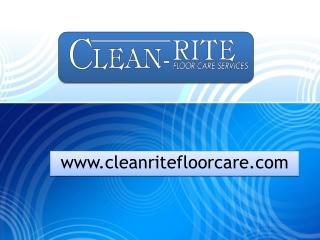 Clean Rite Floor Care Services