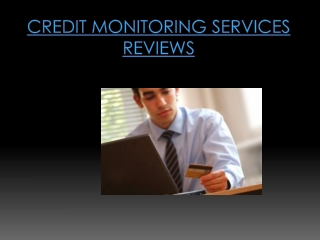 Monitor Credit Reports