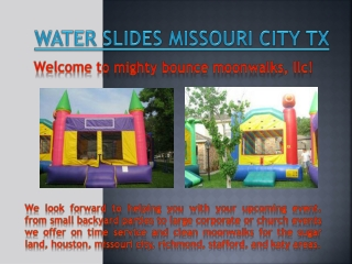 Inflatables Stafford TX