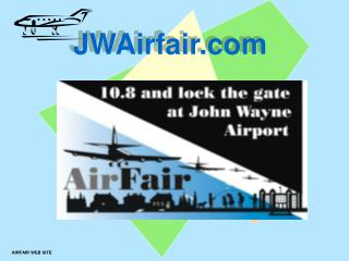 AIRFAIR WEB SITE