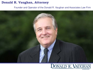 Donald R. Vaughan, Attorney