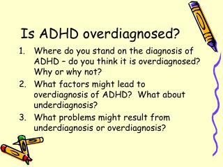 is adhd overdiagnosed