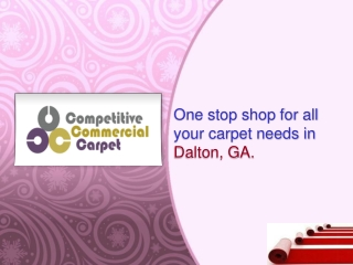 Competitive Commercial Carpet