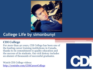 Life at CDI College on Instagram by simonbunyi in Mississaug