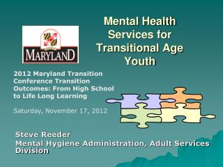 Mental Health Services for Transitional Age Youth