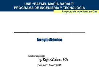 UNE  RAFAEL MAR A BARALT  PROGRAMA DE INGENIER A Y TECNOLOG A