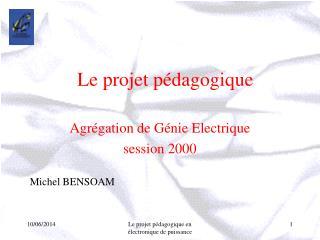 Le projet p dagogique