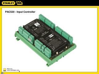 PAC520 - Input Controller